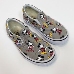 Vans Disney Mickey Mouse Slip On Shoes size 10.5